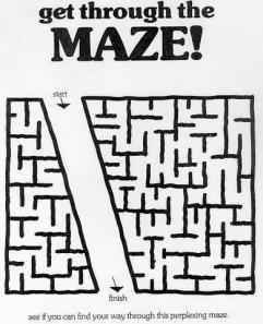 A Maze for Blondes