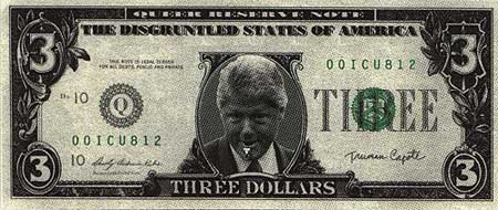 The three dollar bill