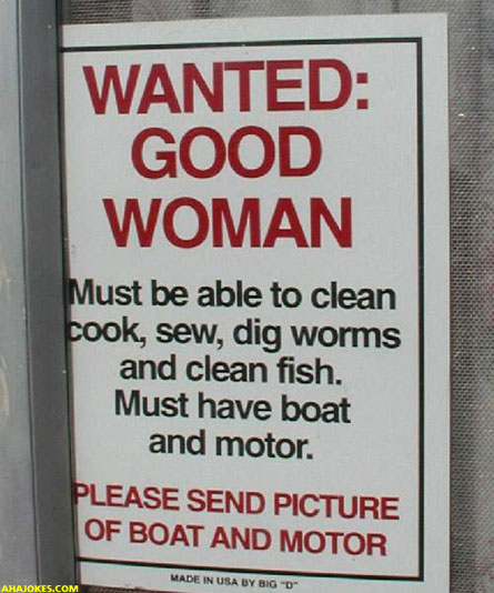 Need Good Women