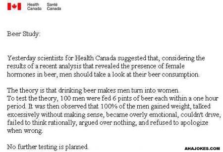 Latest Study on Beer
