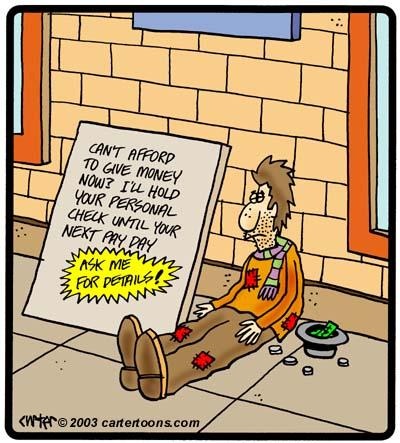 homeless  jokes
