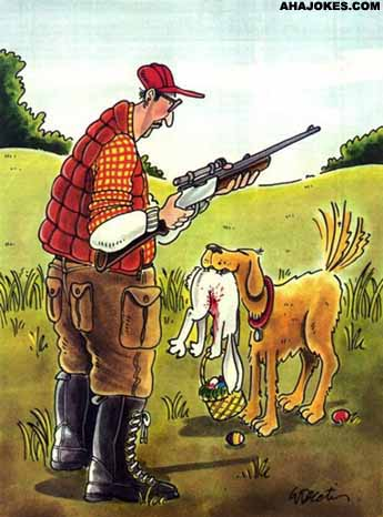 Funny Hunting Cartoon