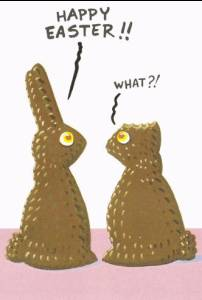 The chocolate rabbits