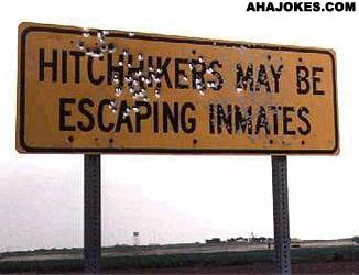 Hitchhiker dangers