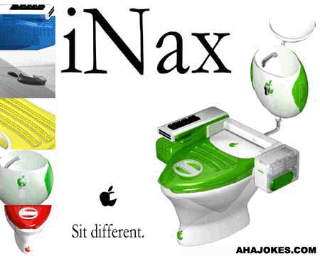 The new iNax toilet