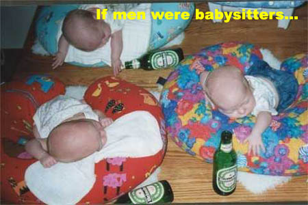 Babies have alcohol
