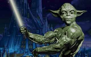 Yoda lifting weights