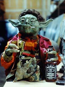 Yoda Drinking