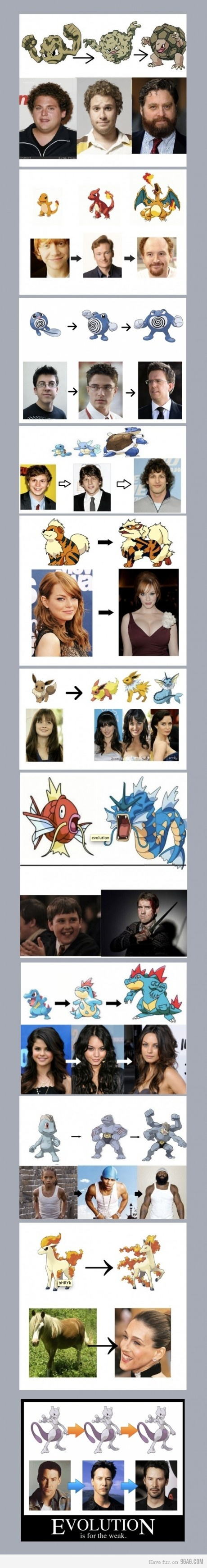 If Celebrities Were Pokemon | Meme Shuffle | Pokémon ...